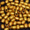 Beads, Acrylic, Burnt orange, Cylindrical, 9mm x 7mm x 7mm, 8g, 40 Beads, (SLZ0202)